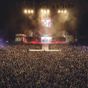 La Pegatina La fiesta más grande del año. Fotografía de Javier Bragado